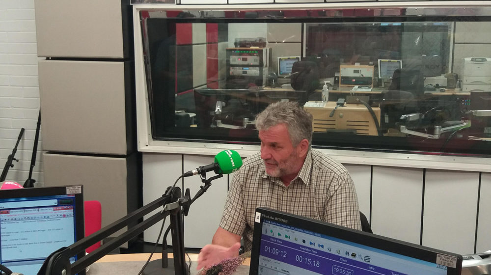 Stephen Noblet discusses Yorkshire food and drink exports at BBC Radio York